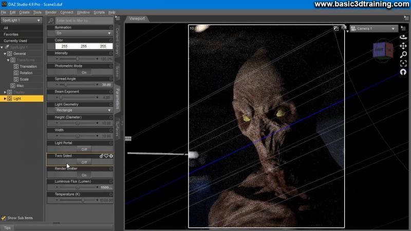 Portrait of An Alien Video 2