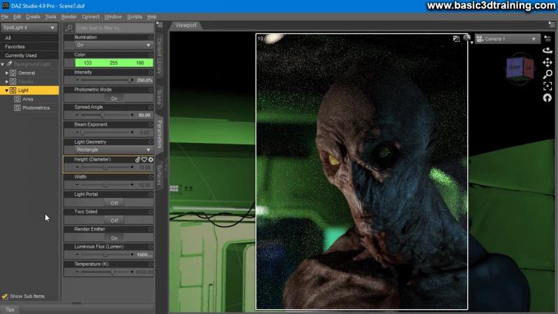 Portrait of An Alien Video 3
