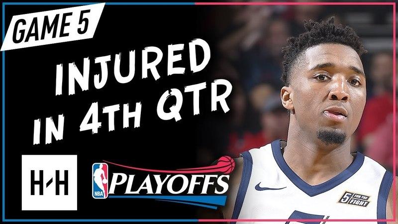 Donovan Mitchell Full Game 5 Highlights Jazz vs Rockets 2018 NBA Playoffs - 24 Pts, 9 Ast, 4 Reb!