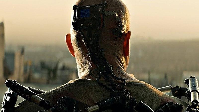 В Макса вживляют экзоскелет Станешь ниндзей трущоб Элизиум рай не на Земле 2013