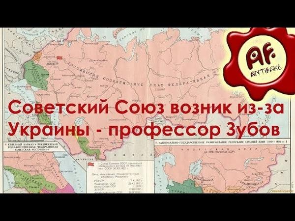 Советский Союз возник из за Украины профессор Зубов