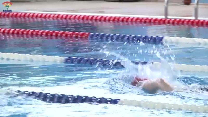 В Бассейне Лазурный г.Тосно стартовало первенство по плаванию