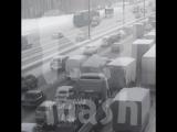 Снегопад в разы уменьшил число серьёзных ДТП в Москве