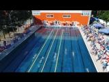 Открытие и первый день Открытого детского турнира по плаванию «Кубок золотого кольца» в ВДЦ «Смена»