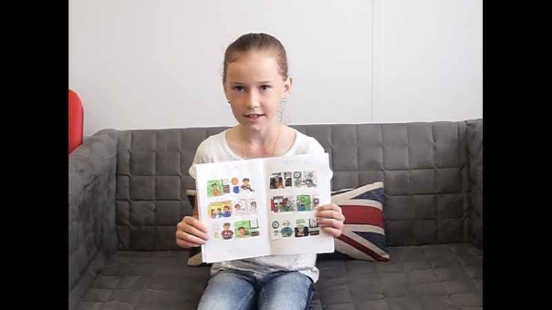 My English book 3 класс Даша
