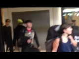 FT ISLAND Arrival at the Airport in Santiago, Chile Part 1