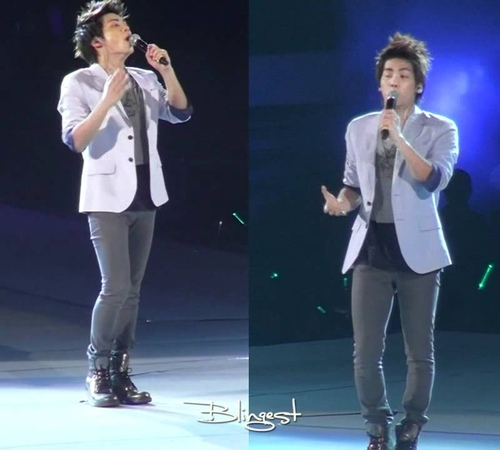 Blingest110820 SHINee 1st Concert in Nanjing Jonghyun solo 双机位 交错的爱
