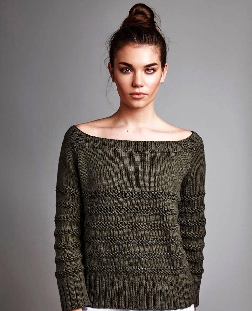 Хлопковый пуловер Canvas
