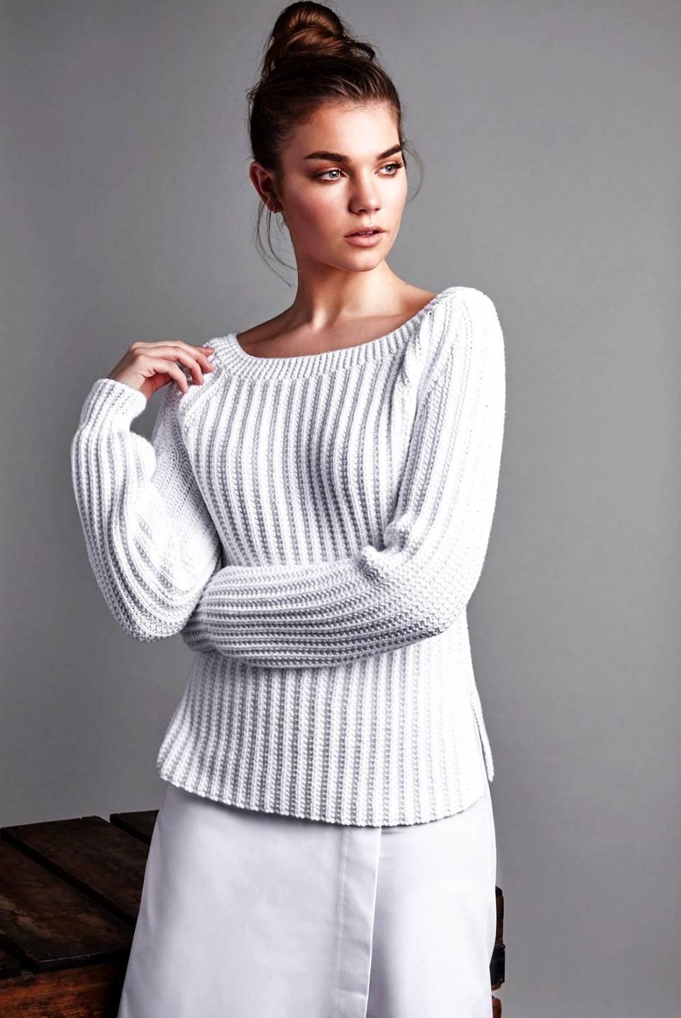 Хлопковый пуловер Appeal