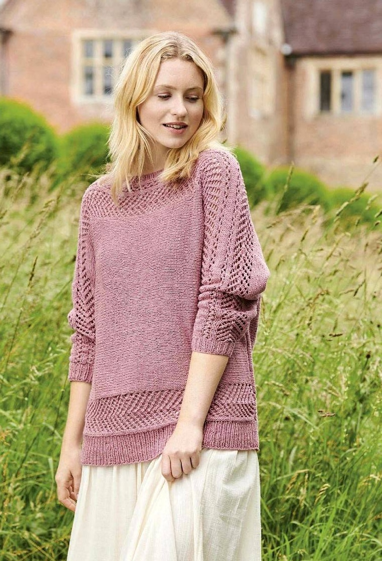 Поперечный пуловер Fhlox