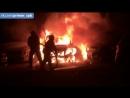 На Комендантском проспекте сгорели три автомобиля