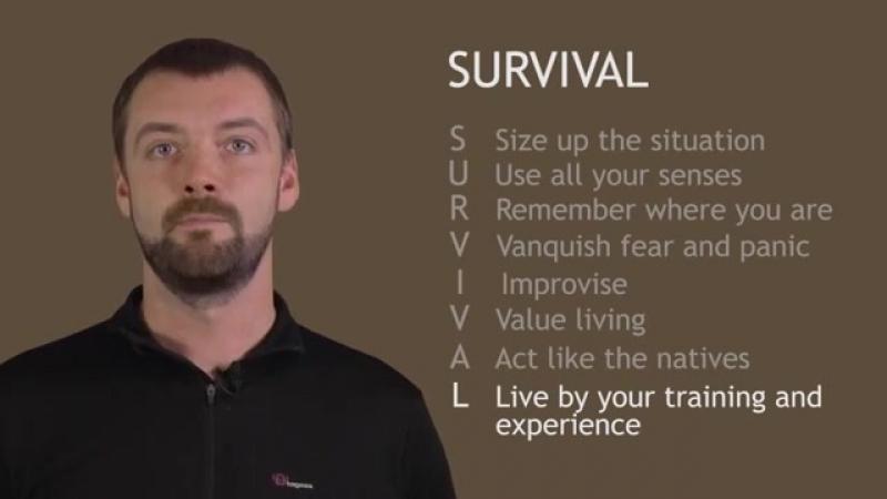 S.E.R.E C.S.A.R. Основи виживання. Базові алгоритми