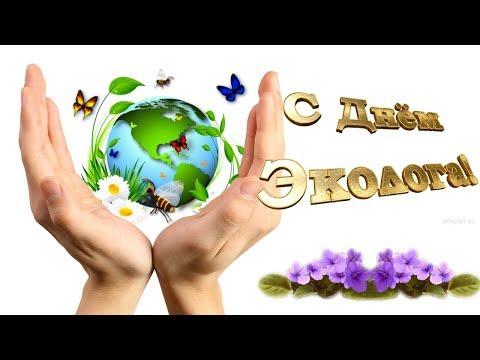 День эколога 2018 Всемирный день охраны окружающей среды Поздравляю От души