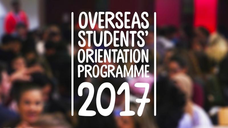 Overseas Students Orientation Programme (OSOP) 2017 - University of Hertfordshire