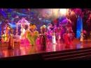 Красочное представление в Тайланде