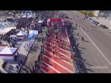 Karaganda Half Marathon Арманға жол 2018 с высоты! Карагандинский полумарафон 20 Мая 2018..mp4