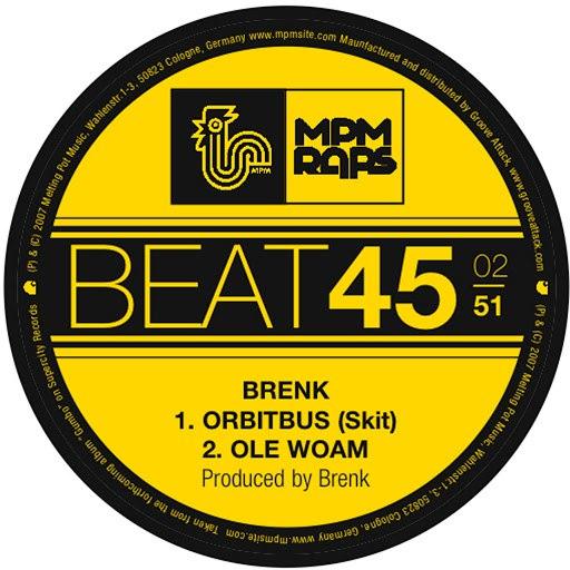 Brenk Sinatra альбом Ole Woam
