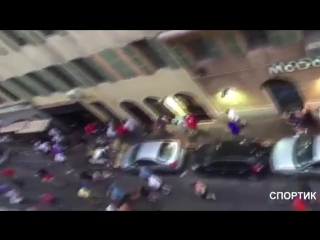 Russian Hooligans vs English (EURO 2016)