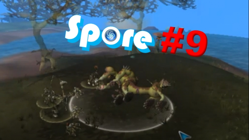 Мы кокнули монстра Spore 1 9