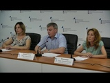 Брифинг о ходе вступительной кампании в ЛНУ имени Тараса Шевченко
