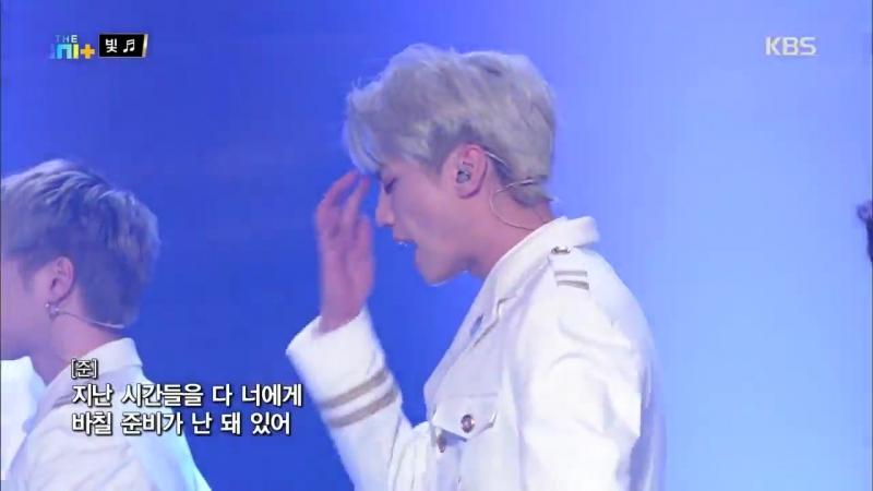 [180224] The Unit <Special Show>더 유닛 The Unit - 오늘 난 주인공이야_ 유앤비의 '빛'.20180224