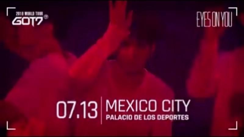 🐥 I GOT7s de México 🇲🇽 Los boletos para GOT7 2018 WORLD T