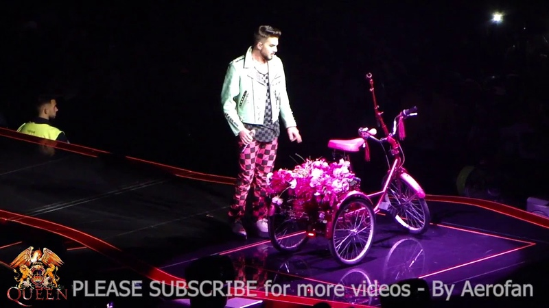 Queen Adam Lambert Lisbon June 7 -Don't Stop me Now, Bicycle Race, I'm in Love with my Car