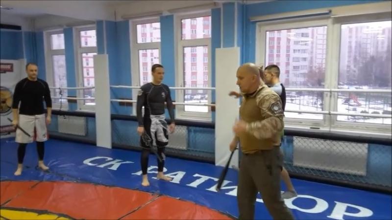 MMA*RAPT*Tactical self defese. - часть 1. Ударно дробящее оружие.