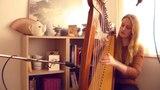 Jamaica Farewell - Harry Belafonte (LIVE Harp Cover)
