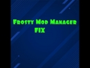 Как исправить ошибку Frosty Mod Manager