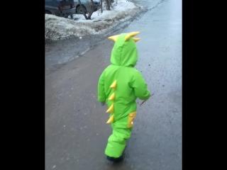 Видео ОБЗОР ДИНО комбинезона