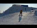 2018 — 7bits празднуют 23 февраля и 8 марта в Крутой Горке. Айгерим на сноуборде
