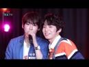170810 Yongguk x Shihyun x JinYoung x Woodam (Lee HyunJung - Bruise Karaoke Live) @ HeyoTV