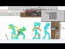 Майнкрафт против Анимации [ Самые смешные приколы в Minecraft