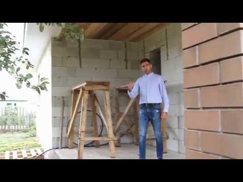 Подробный видеообзор одноэтажного дома из газоблока