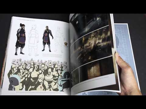 The Legend of Korra: Book 1 -- Air, The Art of the Animated Series