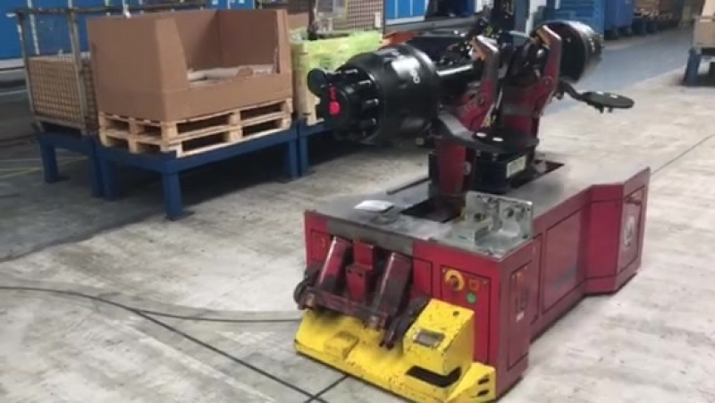 Production of axes in Holland