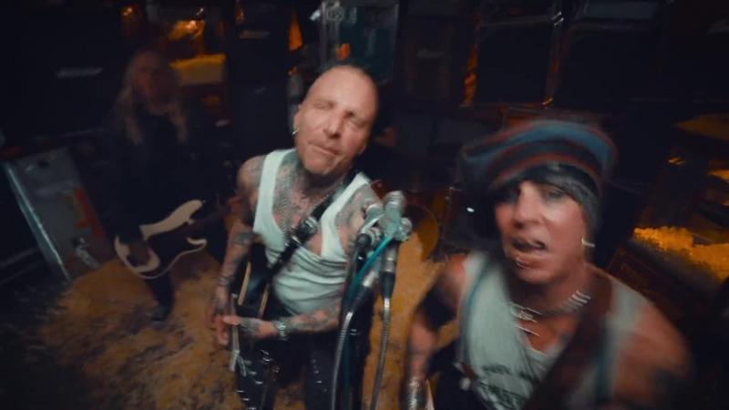 BACKYARD BABIES - Shovin Rocks (OFFICIAL VIDEO) _ Full HD