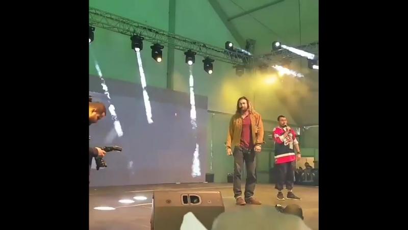 24 ноября 2017 - Джейсон на Comic Con Arabia
