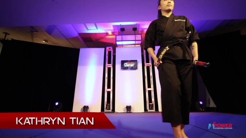 Kathryn Tian Weapons Performance at the Mpower Summit 2017