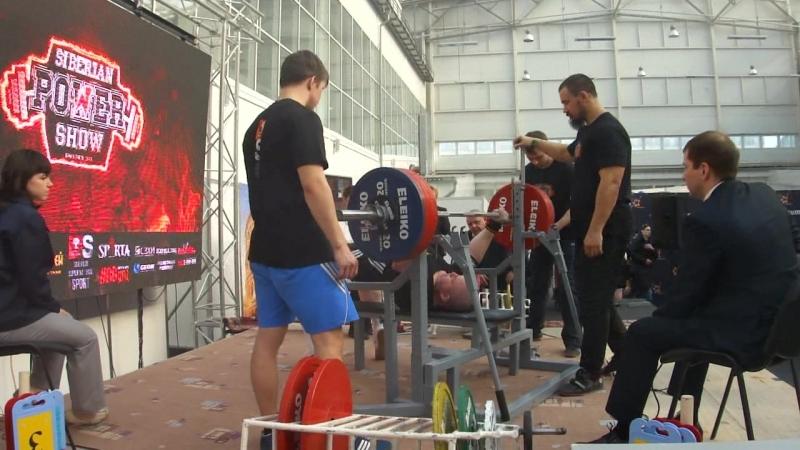 17.03.18 Просто неудачный день Power show, 270 кг -1 подход ✌
