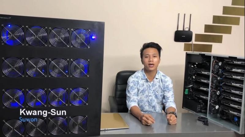 12 GPU Ethereum Miner Comparision Vs Promax7.2 ETH Miner