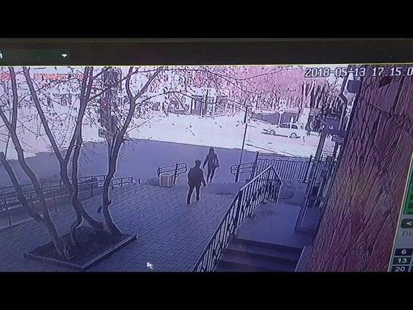 На Бакинских комиссаров сбили пешехода