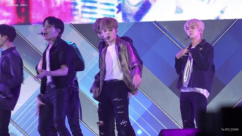 180622 롯데패밀리콘서트 'Anpanman(앙팡팬)' 방탄소년단 지민 BTS JIMIN Focus 직캠