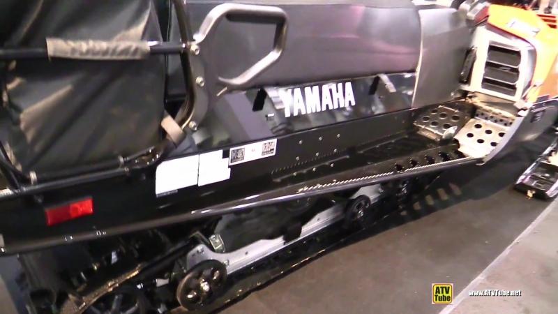 2018 Yamaha VK540 Sled - Walkaround - 2017 Toronto Snowmobile ATV Show