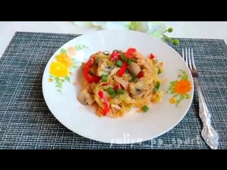 Куриное филе с овощами Здоровое питание | Power of will