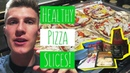 HOW TO MAKE CHEAP DELICIOUS HEALTHY PIZZA!
