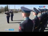 Кадеты Петрозаводского ПКУ готовятся к военному параду