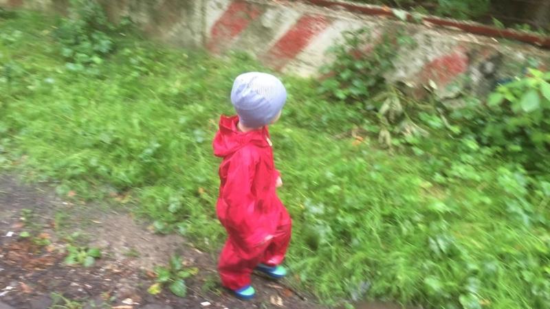 Сынок в комбинезоне-дождевике Хиппичик
