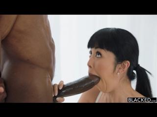 Asian milf Marica and big black dick